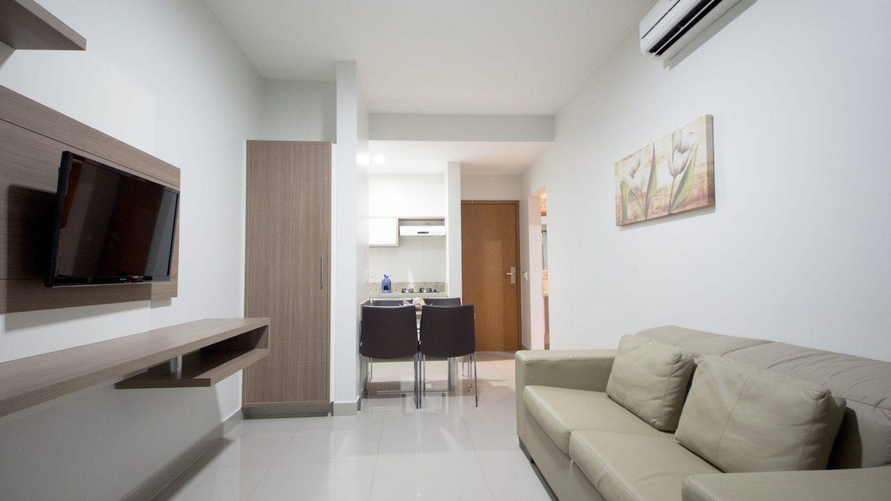2POL6932 - Privé Marina Flat & Náutica - Acomodação Família